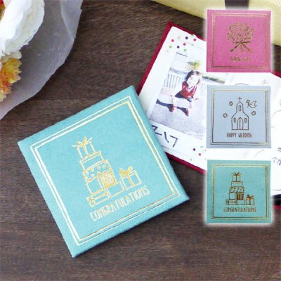 ミニ メッセージブック メッセージカード お祝いカード 結婚 入学 誕生日 ホワイトデー ホワイトデー 寄せ