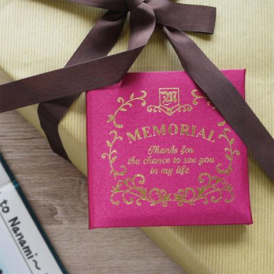 メモリアルメッセージブック ギフト ミニ