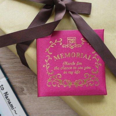 メモリアルメッセージブック ギフト ミニ メッセージカード お祝いカード 結婚式 入学 誕生日 ホワイトデ