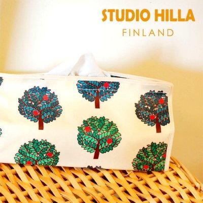 STUDIO HILLA(スタジオヒッラ) テンテ ティッシュボックスケース(ラミネート)