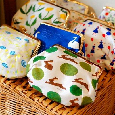 cozyca products(コジカプロダクツ) 帆布コスメポーチ 西淑 Aiko fukawa