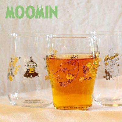 MOOMIN(ムーミン) グラス ガラスタンブラー 245-280ml
