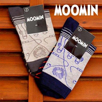 MOOMIN(ムーミン) フィンランド製 レディースソックス 23cm-25cm