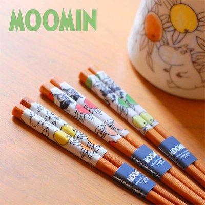 MOOMIN(ムーミン) シトラスドット天然木箸