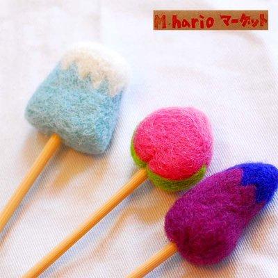 M hario マーケット(エムハリオマーケット) 羊毛モチーフ耳かき おしゃれ&かわいい耳かき