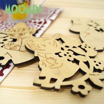 MOOMIN(ムーミン) 木製コースター