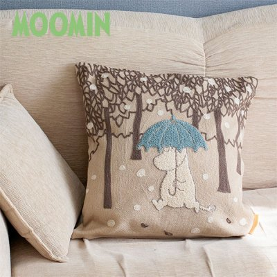 MOOMIN(ムーミン) クッションカバー 北欧おしゃれ&かわいいクッションカバー45cm×45cm