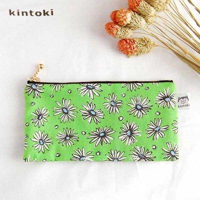 kintoki(キントキ) 花柄ペンケース レディース 小物入れ