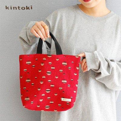 kintoki(キントキ) ドット柄 トートバッグ レディース ランチバッグ