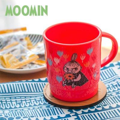 MOOMIN(ムーミン) ミィフラワー スタッキングコップ 340ml 電子レンジ対応の日本製リトルミイ マグカップ