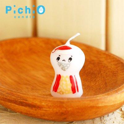pichio candle(ピチオキャンドル) サンタ キャンドル 北欧おしゃれ&かわいいキャンドル
