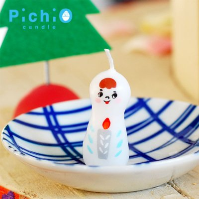 pichio candle(ピチオキャンドル) 天使キャンドル 北欧おしゃれ&かわいいキャンドル