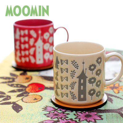 MOOMIN(ムーミン) ムーミン リトルミイ 新撥水マグカップ 北欧おしゃれ&かわいいマグカップ