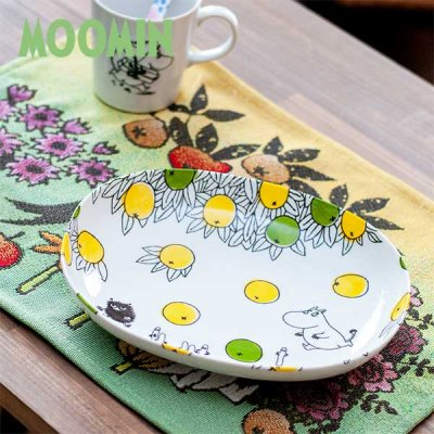 MOOMIN(ムーミン) オーバルボウル 北欧デザインのおしゃれなお皿