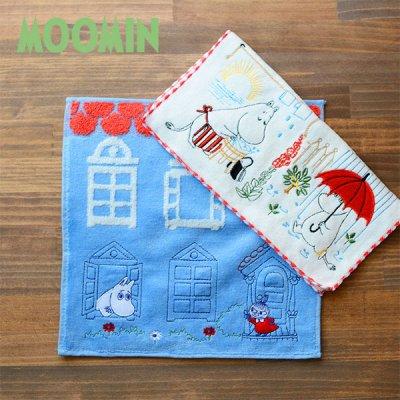 MOOMIN(ムーミン) 刺繍タオル 北欧おしゃれ&かわいいハンドタオル