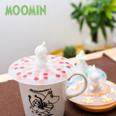 MOOMIN(ムーミン) シリコンカップカバー 北欧おしゃれ&かわいいシリコンリッド