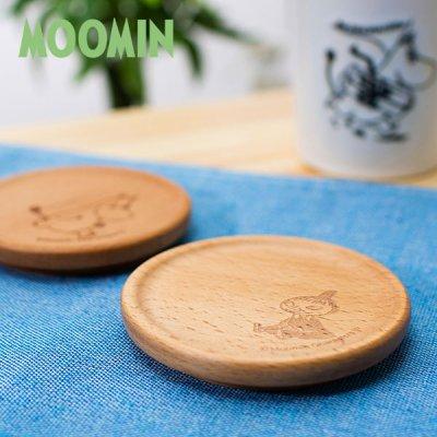 MOOMIN(ムーミン) 木製コースター 北欧おしゃれ&かわいいコースター
