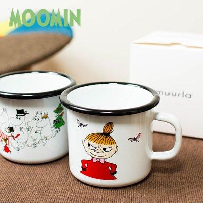 MOOMIN(ムーミン) muurla ホーロー マグカップ スモール(250ml) 北欧おしゃれ&かわいいメラミンマグ