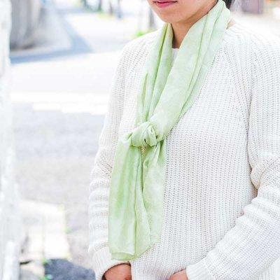 宮崎あゆみ(みやざきあゆみ) 桐生織ストール レディース大人風の綺麗めストール