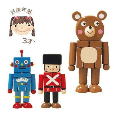 木製ロボット