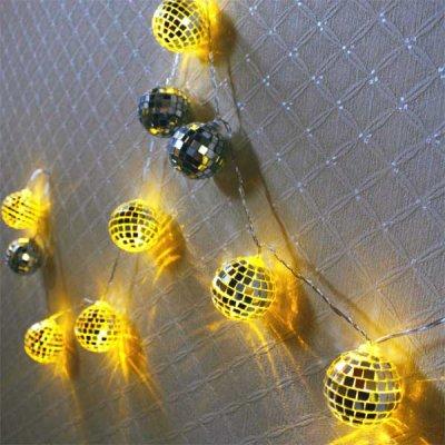 2WAY LEDフラッシュライト ミラーボール 10球