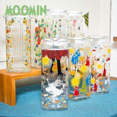 MOOMIN(ムーミン) ガラスポット 1000cc 北欧おしゃれ&かわいいお茶ポット