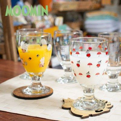 MOOMIN(ムーミン) ジュースグラス 280cc 北欧おしゃれ&かわいいガラス製コップ