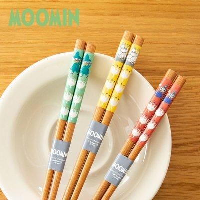 MOOMIN(ムーミン) クッカ 天然木箸 北欧おしゃれ&かわいい お箸