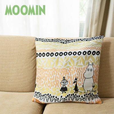 MOOMIN(ムーミン) ボタニス ゴブラン織りクッションカバー 北欧おしゃれ&かわいいクッションカバー