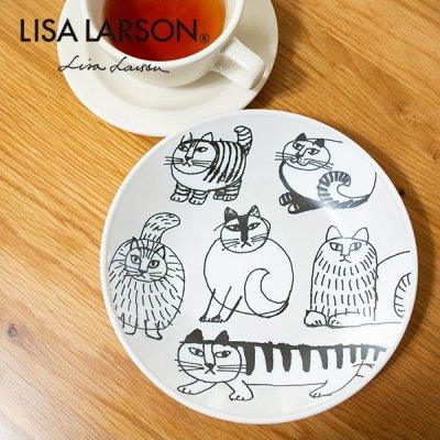 LISA LARSON(リサラーソン) スケッチ 18プレート  北欧デザインのおしゃれなお皿