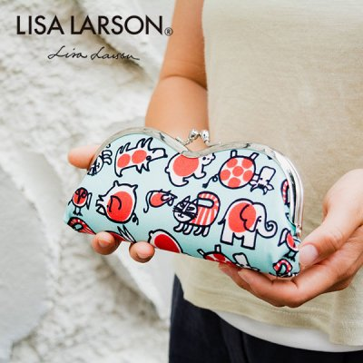 LISA LARSON(リサラーソン) 眼鏡ケース ベイビーマイキー 北欧おしゃれ&かわいいメガネケース
