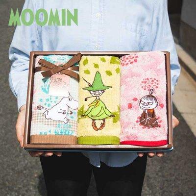 MOOMIN(ムーミン) タオルギフト 北欧おしゃれ&かわいいタオルのセット