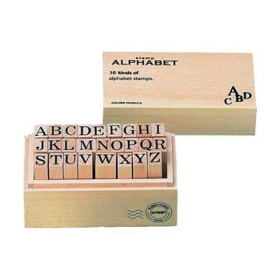 ウッドボックス スタンプ アルファベット M