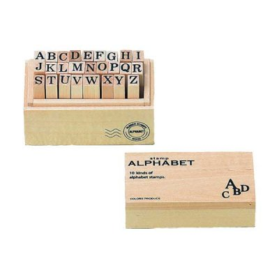 ウッドボックス スタンプ アルファベット L