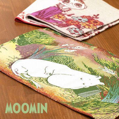 MOOMIN(ムーミン) ゴブラン織り ランチョンマット 絵のように美しいゴブラン織りテーブルマット