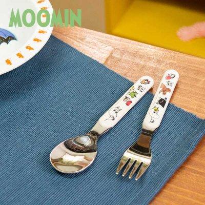 MOOMIN(ムーミン) martinex フォーク&スプーンセット ムーミンキャラクターズ