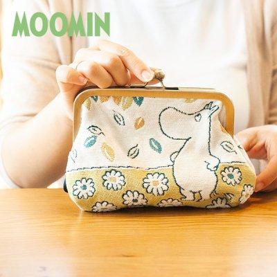 MOOMIN(ムーミン) ゴブラン織りがま口ポーチ ムーミンのゴブラン織り口金ポーチ