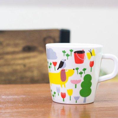 プティジュールパリ(プティジュールパリ) カラフルなメラミンマグ 180ml 北欧おしゃれ&かわいいマグカップ