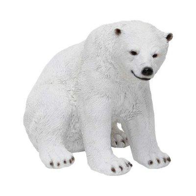 ソリッドオブジェ 白クマ B