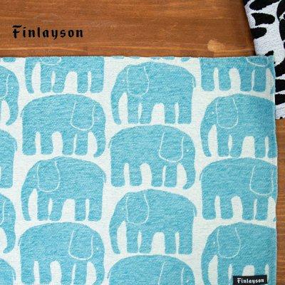 Finlayson(フィンレイソン) ゴブラン織りランチョンマット エレファンティ 絵のように美しいテーブルマット