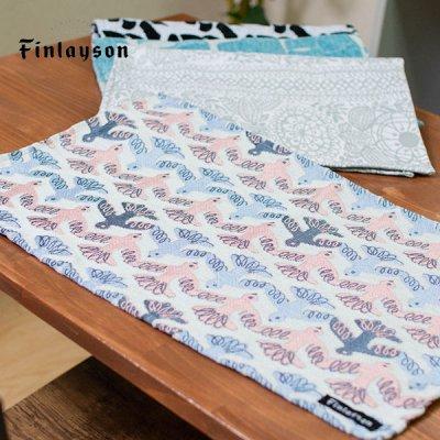 Finlayson(フィンレイソン) ゴブラン織りランチョンマット ムート 絵のように美しいテーブルマット