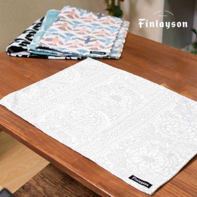 Finlayson(フィンレイソン) ゴブラン織りランチョンマット タイミ 絵のように美しいテーブルマット