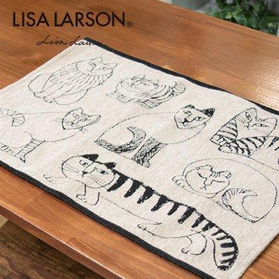 LISA LARSON(リサラーソン) ゴブラン織りランチョンマット リサ・ラーソンデザインのランチョンマット