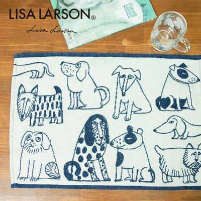 LISA LARSON(リサラーソン)ゴブラン織りランチョンマット スケッチドッグ リサ・ラーソン ランチョンマット
