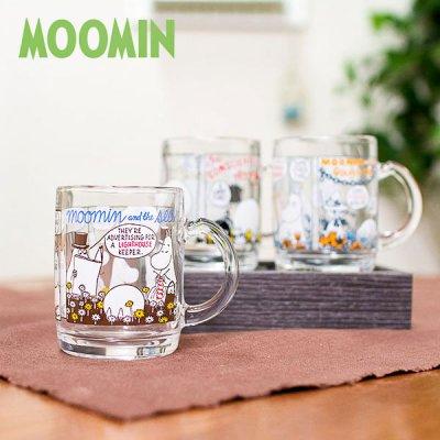 MOOMIN(ムーミン) コミックスマグ 可愛いムーミンのガラス製マグカップ