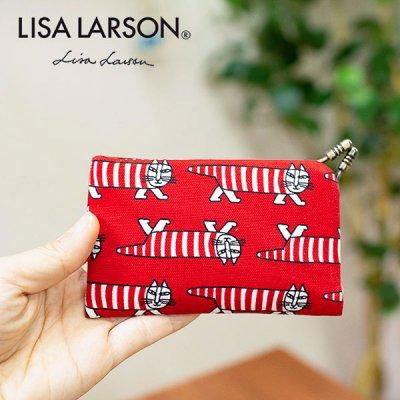 LISA LARSON(リサラーソン) 口金カードケース マイキーが可愛くお洒落なカードケース