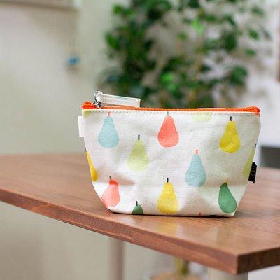 プティジュールパリ(プティジュールパリ)化粧ポーチやバッグの仕分けに便利なファスナーポーチ