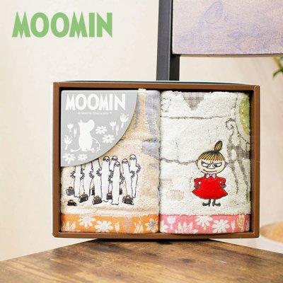 MOOMIN(ムーミン) ムーミン谷の日々 タオルギフト リトルミイとニョロニョロのタオルセット