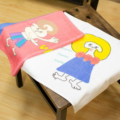 uRiiiy(ウリ) ウィッシュタオル 綿100% カラフルで可愛い ふかふかタオル