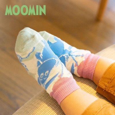 MOOMIN(ムーミン) ベビーソックス 女の子・男の子に♪ムーミン赤ちゃん用靴下